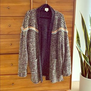 Super cute and soft over sized cardigan